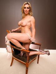 Solo model Tanya Tate unsheathes her..
