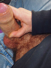 Immensely Enormous Rod With Precum -..
