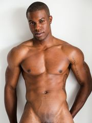 Rugged ripped dark-hued stud Jaden..