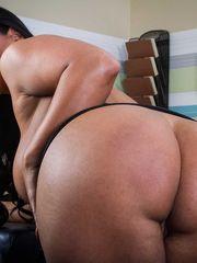 Ample  stripper bella jiggles that  -..