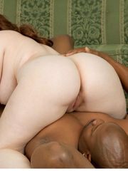 big plus-size felicia clover torn up..
