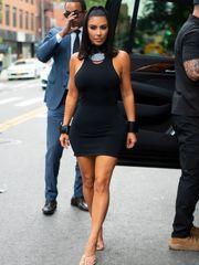 Kim Kardashianaposs Sumptuous LBD..