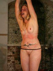 Lady enjoying cropping free Domination..
