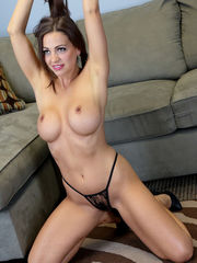 Abigail Mac Unclothes Down to Uncover..