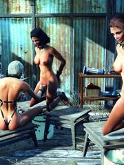 Fallout sex & gimps Manga porno Online..