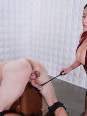 Mistress_Angela_White_Milking_with_Spank.