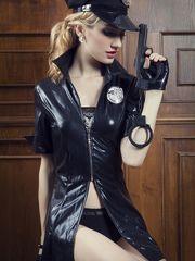 8 Pcs Ladies Police Uniforms Elegant..