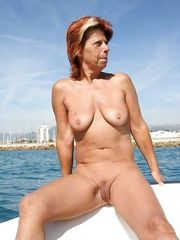 My redhead wife enjoy to go bare