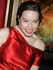 World Red-hot Actress: Anna Popplewell..