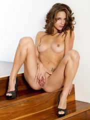 Lean centerfold Malena Morgan gets bare..