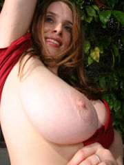 Maggie Green: Crimson Buttton-Down (54..