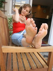 Fetish Sexy Mature Soles 52 High..