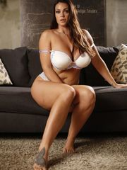 Alison Tyler gets penetrated on a bed..
