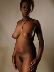 Naked dark-hued milf - bare picture