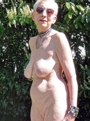 Intimate  in which granny bares her..