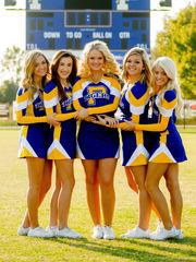 Cheerleaders getting you pumped is..