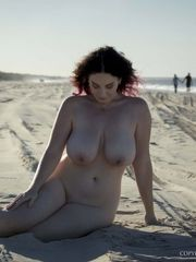 Avalon Winter Beach for Nude Muse -..