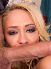 Kagney Linn Karter  monster dick in her..