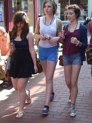 Street Candid 8 - Teens, Pantyhose,..