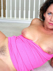 MILF from auntjudys showcases all her..