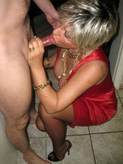Softcore mature wifey gargling so..