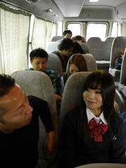Japanese  college bus