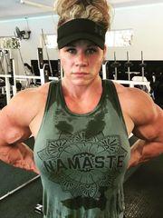 Aleesha Young woman Cutie Muscle