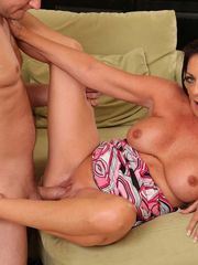 Stepmom Margo Pounding Her  Beaver With..