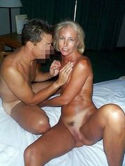 Blond ex wife with tiny little..