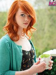 Redhead young lady sun mar Twenty one -..