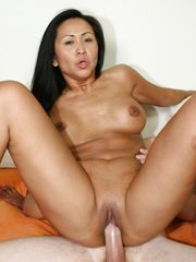 Chinese cougar milky pecker -..