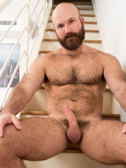 Shaven and bearded hung grizzlies - 53..