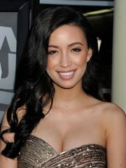 Christian Serratos Cleavy at 'Now..