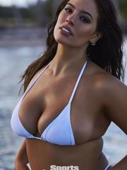 ASHLEY GRAHAM in Sports Illustrated..