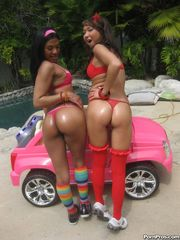 Little latina girl Emy Reyes and  teen..