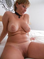 Huge-boobed middle-aged wives spreading..