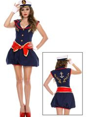 Women's Fetching Captain Costume -..
