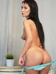 Magnificent young Angie Moon showcases..