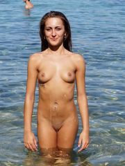 A few little girl nudists posing nude..