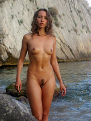 Crimean nudist beach and spectacular..