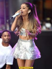 Ariana Grande performing on the Today..