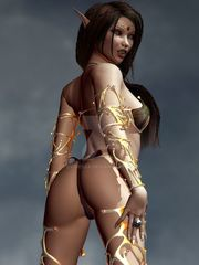 Sexy Curvy Huge-chested Kali Kala Lina..