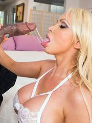 Stellar bride Nikki Benz, blow giant..