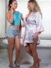 2  Melissa Moore and Olivia Austin..