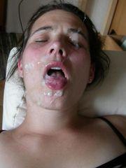 First-timer Facial cumshot  (The..