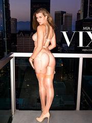 Vixen Mia Melano Big black cock..