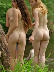 Naturist and nudist women next-door..