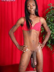 Negra com Pica Gigante (5 Fotos) -..