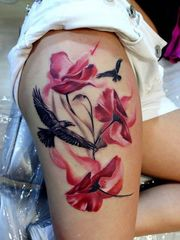 50+ Outstanding Thigh Tats for Girls..