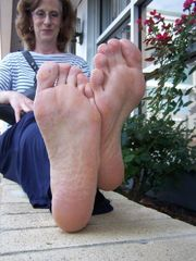 Mature Mature Soles On Street 04 High..